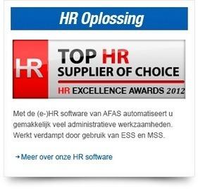 AFAS Software kent uitstekend eerste halfjaar 2013 - AFAS Software België | Showcases ICT | Scoop.it