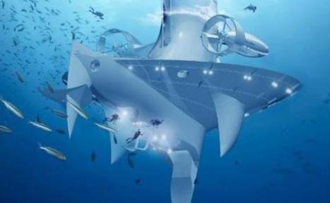 Le vaisseau océanographique futuriste SeaOrbiter bientôt en orbite | Ocean | Scoop.it