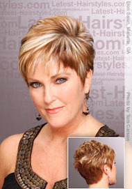 Short Hairstyles Over 40
