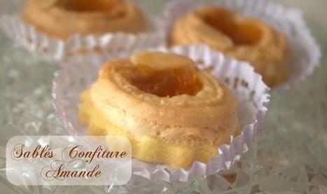 sablés a la confiture et garniture aux amandes - Amour de cuisine | gateaux algeriens 2015 | Scoop.it