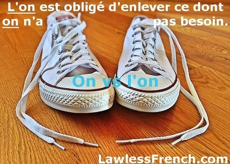 On vs l'on - Lawless French Grammar   French and France   Scoop.it