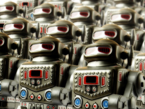 Real bloggers and real blogs always trump Robot Armies | Digital Marketing & Communications | Scoop.it
