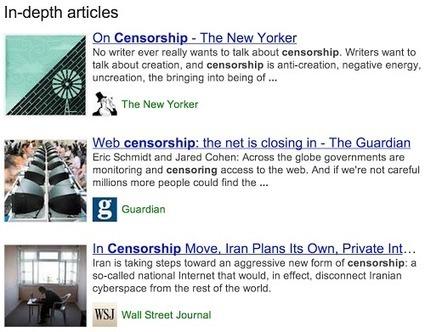 Google lance la recherche d'articles de fond | Inbound Marketing B2B et Médias sociaux | Scoop.it