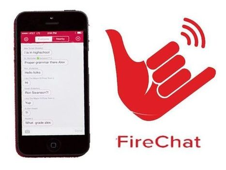 Adiós Whatsapp. Llega Firechat: nuevo programa que permite enviar mensajes de texto sin tener data ni saldo | Open Garden Press Coverage | Scoop.it