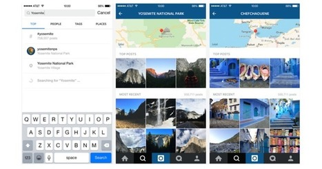 Instagram Now Lets You Search By Location, And More | Instagram's Best | Scoop.it