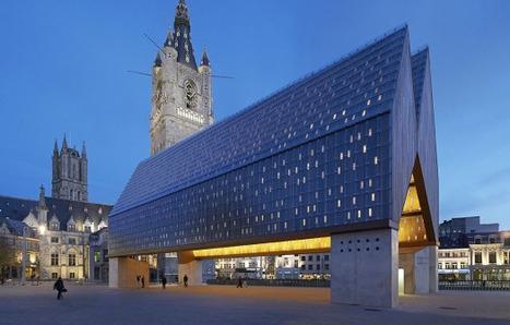[Ghent, Belgium] Market Hall in Ghent / Marie-José Van Hee + Robbrecht & Daem, by Hufton + Crow | The Architecture of the City | Scoop.it