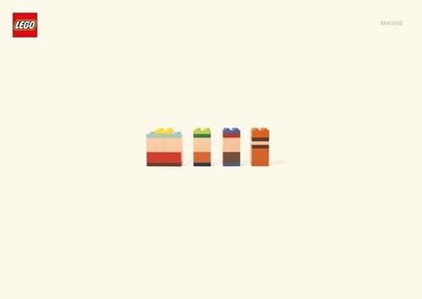 LEGO Imagine – Les personnages célèbres en LEGO minimaliste   Visual Inspiration   Scoop.it
