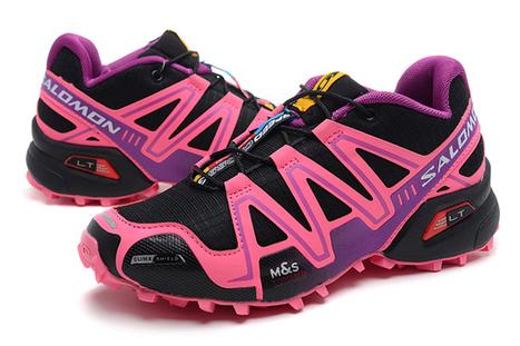 Salomon Speedcross CS 3 Womens Black Pink Trail Running Shoe | new and share style | Scoop.it