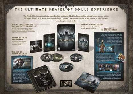 Diablo III – Reaper of Souls Collector's Edition Revealed | Archeage Online | Scoop.it