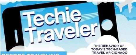 Infographie : technologie et médias sociaux dans le voyage | web@home    web-academy | Scoop.it