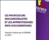 Fadben - Les professeurs documentalistes et les apprentissages info-documentaires   Library & Information Science   Scoop.it