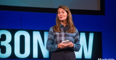 Melinda Gates: Technology Now Has the Power to Move People | Geography | Scoop.it
