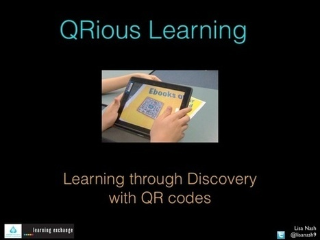QR Codes in the Classroom | Serious Play | Scoop.it