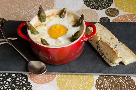 Oeufs cocotte aux asperges et au parmesan | The Voice of Cheese | Scoop.it