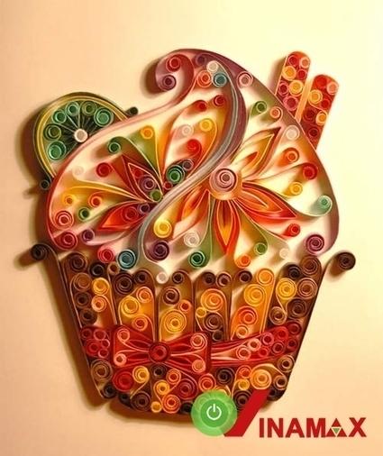 Tranh cuốn giấy món quà độc đáo, sáng tạo | Đồ Handmade - Qùa tặng sáng tạo | Scoop.it