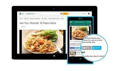 Microsoft fait de Skype son nouveau réseau social en lançant son bouton Partager | Social Media Curation par Mon-Habitat-Web.com | Scoop.it