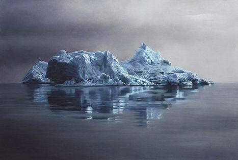 Elle peint des icebergs hyperréalistes et dénonce le changement climatique | Arctique et Antarctique | Scoop.it