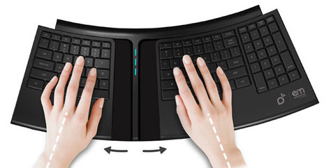 Smartfish Engage Keyboard is Perfect for Carpal Tunnel Sufferers | All Geeks | Scoop.it