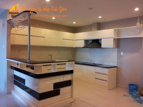 Tủ bếp cao cấp chị LOAN - Củ Chi TBAK360. | Tủ bếp, Bếp An Khang tạo dấu ấn cho ngôi nhà VIỆT 0839798355 | Scoop.it