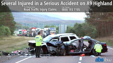 Several Injured in a Serious Accident on A9 Highland | Official Blog of ABS Law | Do you want to Make a claim against Road Accident | Scoop.it