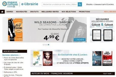 E.Leclerc se lance dans la bataille du livre numérique avec Bookeen - JDN | L'édition numérique pour les pros | Scoop.it
