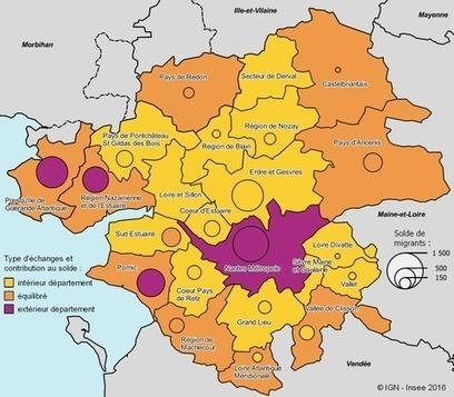 Insee > Des motifs de déménagement différents selon les territoires et les distances | Observer les Pays de la Loire | Scoop.it