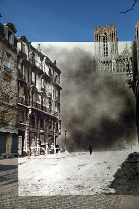 Eye-Opening Photos Juxtapose Images of Present-Day and WWI-Era Europe | world war history | Scoop.it