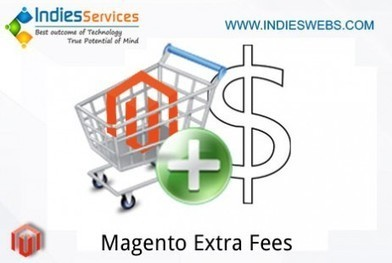 Free Magento Extension: Magento Extra Fee | Jay | Scoop.it
