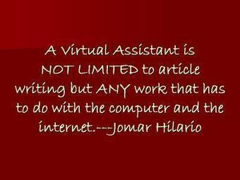 Evolve as a Filipino Virtual Assistant « The Evolving Virtual Assistant   How to Work from Home as a Filipino Virtual Assistant   Scoop.it