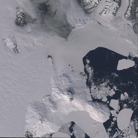 El Monte Erebus desde el Landsat 8 | Remote Sensing News | Scoop.it