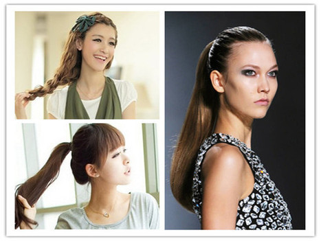 Hairstyle-Spa: Six Quick and Easy Back to School Hairstyles For Girls' New Semester   hairstyles   Scoop.it