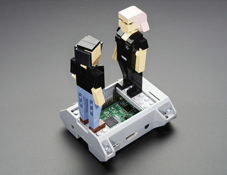 SmartiPi Kit - LEGO® Compatible Case for Raspberry Pi B+ / Pi 2 - Gray | Raspberry Pi | Scoop.it