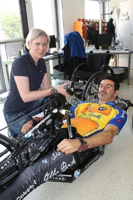 Optimised clothing for wheelchair athletes - Innovation in Textiles | Sport innovation | Scoop.it
