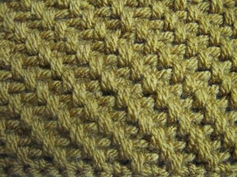 Crochet Stitches Raised Treble Front : crochet) How To Crochet the Raised Treble Diag...