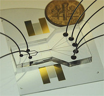 "New ""acoustic tweezer"" lab-on-a-chip has major implications on race to build medical tricorder 
