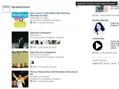 Facebook teste les « évènements à venir » et les « albums ... - Le blog des nouvelles technologies | les services et les nouvelles tendances | Scoop.it
