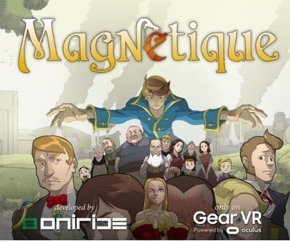 Magnétique une BD à lire en réalité virtuelle   L'e-Space Multimédia   Scoop.it