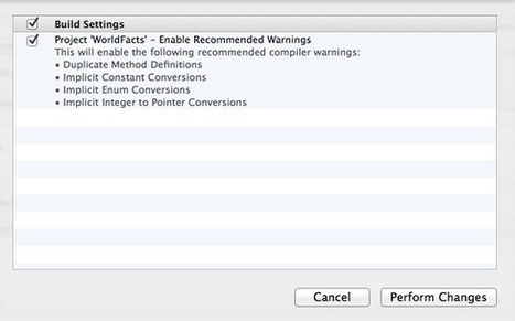 Xcode 4.6 Recommended Build Settings - Use Your Loaf | iPhone and iPad Development | Scoop.it