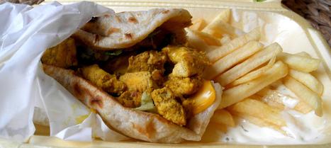 Le « chicken » de Lille (sandwich à l'indienne du « Mangez-moi ») | TOPFOOD Lille | Scoop.it