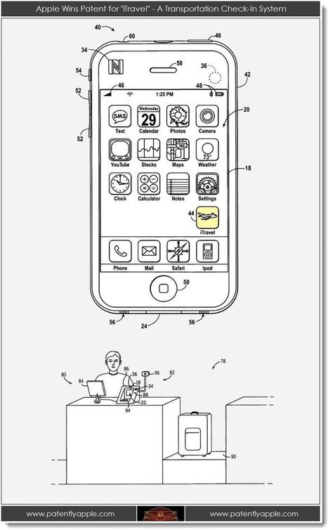 Apple Wins a Major Patent for iTravel & More - Patently Apple | Digital Advancement | Scoop.it