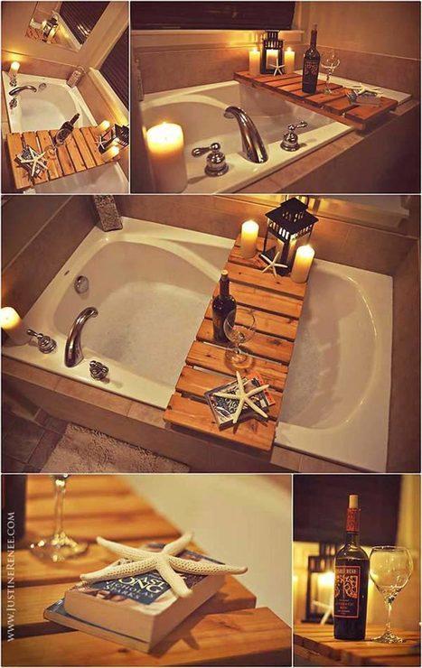 10 ideas para utilizar paléts de madera en el cuarto de baño | Mil Ideas de Decoración | Decoración de interiores | Scoop.it