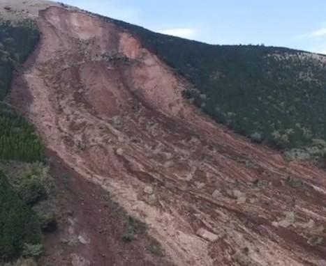 Drone footage of the Kumamoto earthquake landslides   Geology   Scoop.it