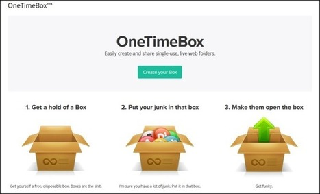 OneTimeBox Lets Multiple People Share Files In A Single Cloud Folder | BYOD and AT | Scoop.it