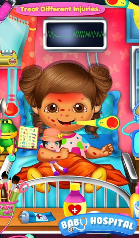 Baby Hospital - Free Android Game | Laura Kelly | Scoop.it