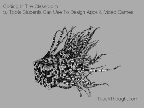 Coding In The Classroom: 10 Tools Students Can Use To Design Apps & Video Games - TeachThought | Learning with Games | Scoop.it