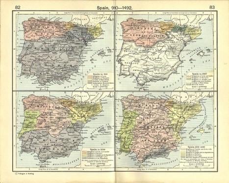 Catorce mapas que te explican de un vistazo la Historia de España - Cooking Ideas   INTERNET Y NUEVAS TECNOLOGÍAS   Scoop.it