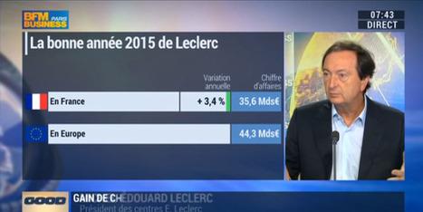 """""""Leclerc a le taux de fidélité le plus élevé de la distribution française"""", Michel-Édouard Leclerc   TRADCONSULTING 4 YOU   Scoop.it"""
