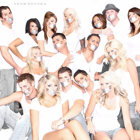 NOH8 Group Pic | Impressions | Scoop.it