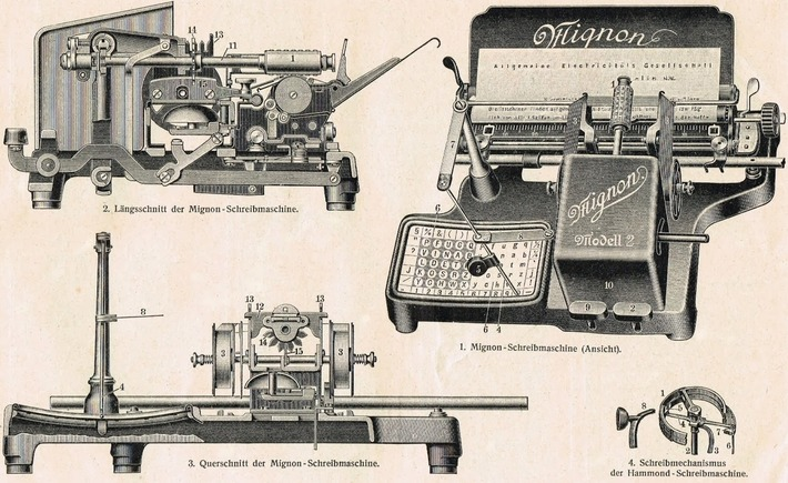 On This Day in Typewriter History: Qu'elle est Mignonne! | Antiques & Vintage Collectibles | Scoop.it