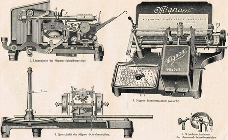 On This Day in Typewriter History: Qu'elle est Mignonne! | Vintage and Retro Style | Scoop.it
